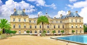 卢森堡Palase 免版税图库摄影
