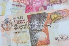 卢比塞舌尔群岛 免版税图库摄影