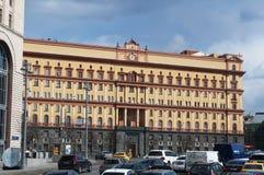 卢比扬卡广场,莫斯科,俄国联邦城市,俄罗斯联邦,俄罗斯 免版税库存图片