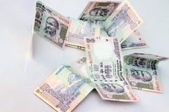 100卢比笔记印地安货币  免版税库存图片