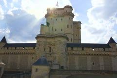 卢瓦尔河城堡在法国 库存照片