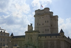 卢瓦尔河城堡在法国 免版税库存照片