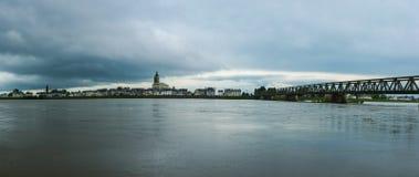 卢瓦尔河 库存照片