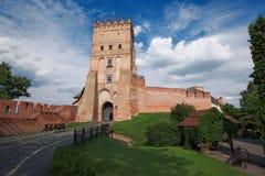 卢茨克城堡 库存图片