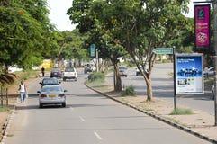 卢萨卡,赞比亚- 2008年12月15日 库存照片