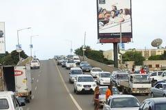 卢萨卡,赞比亚- 2008年12月15日 免版税库存图片