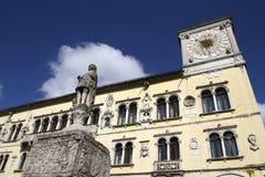 贝卢诺,意大利 免版税库存照片