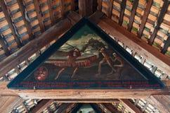 卢赛恩,卢塞恩州,中央瑞士,欧洲的首都 库存图片