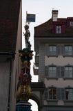 卢赛恩,卢塞恩州,中央瑞士,欧洲的首都 库存照片