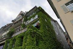 卢赛恩-一个美丽的城市在瑞士 免版税库存图片