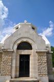 卢韦蒙Côte duPoivre教会  图库摄影