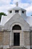 卢韦蒙Côte duPoivre教会  免版税库存照片