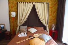 卧室东方人样式 库存图片
