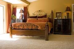 卧室主要现代 库存图片