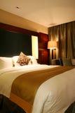 卧室旅馆 库存照片