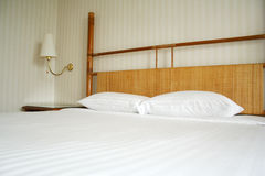 卧室旅馆 免版税库存图片