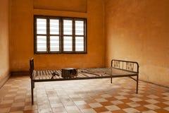卧室监狱酷刑 库存照片