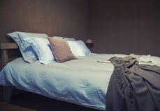 卧室细节  免版税库存照片