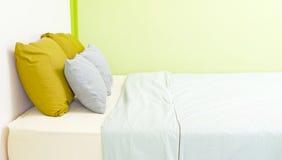 卧室绿色 图库摄影
