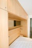 卧室编译新家具的豪华 免版税库存图片