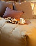 卧室舒适设计内部系列 库存图片