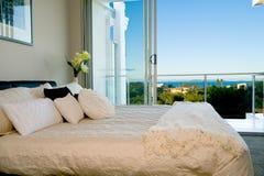卧室装饰 免版税图库摄影