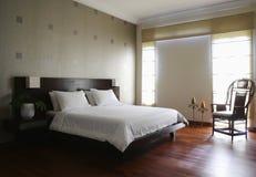 卧室设计内部 免版税图库摄影