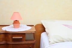 卧室详细资料 免版税库存照片