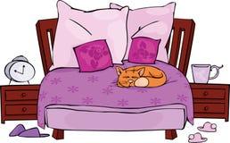 卧室 免版税库存图片