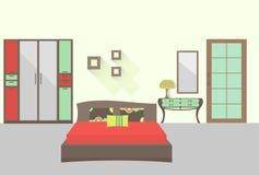 卧室1 免版税库存照片
