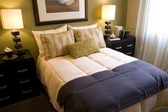 卧室2681 库存照片