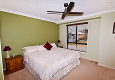 卧室cirtus重要资料 免版税库存图片
