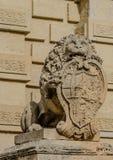 卫兵狮子 免版税图库摄影