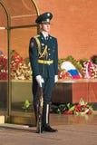 卫兵荣誉称号克里姆林宫莫斯科俄国&# 免版税库存图片