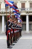 卫兵荣誉称号蒙得维的亚 库存图片