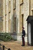 卫兵身分 免版税库存图片