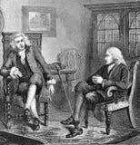 卫斯理和Wilberforce 库存照片