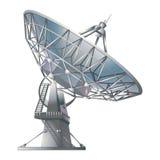 卫星盘,例证 免版税图库摄影