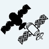 卫星象 免版税图库摄影