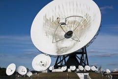 卫星通讯, Burum,荷兰 免版税库存照片