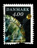 卫星&地球, serie,大约1999年 免版税库存照片