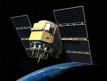 卫星 皇族释放例证