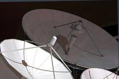 卫星4个的盘 库存照片