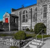 卫理公会教派的教堂 免版税库存照片