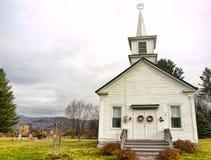 卫理公会教派的教堂 库存图片