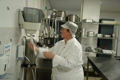 卫生学厨房 库存图片