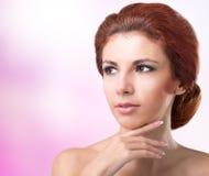 卫生学皮肤面孔 免版税库存照片