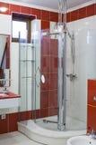 卫生间内部现代 免版税库存图片