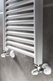 卫生间加热器透视图 免版税库存图片