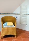 卫生间椅子 图库摄影